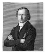 Jean Baptiste Andr� Dumas Fleece Blanket