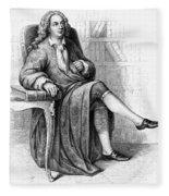 Jean Baptiste Rousseau Fleece Blanket