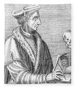 Jean Fernel, French Physician Fleece Blanket