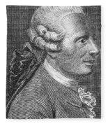 Jean Le Rond Dalembert, French Polymath Fleece Blanket