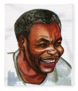 Jean Pierre Dikongue Pipa Fleece Blanket