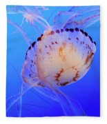 Jellyfish 5 Fleece Blanket
