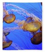 Jellyfish 6 Fleece Blanket