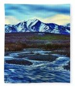 Jenny Creek Dawn Fleece Blanket