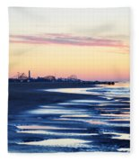Jersey Shore Sunrise Fleece Blanket