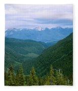 Jewell Basin- Mt Fleece Blanket