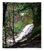 Jewell Of The Forest Fleece Blanket