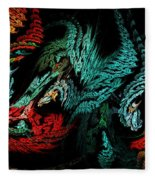 Jewels Of The Night Fleece Blanket
