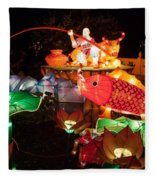 Jiang Tai Gong Fishing Fleece Blanket