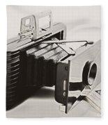 Jiffy Kodak Vp Camera Fleece Blanket