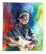 Jimi Hendrix 02 Fleece Blanket