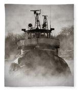 Jimmy L Bow Fleece Blanket
