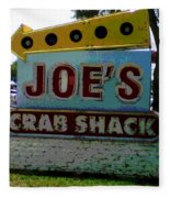 Joe's Crab Shack Fleece Blanket