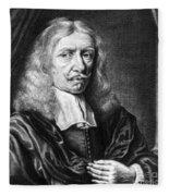 Johannes Hevelius, Polish Astronomer Fleece Blanket