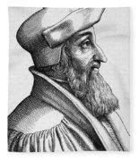 Johannes Oecolampadius Fleece Blanket