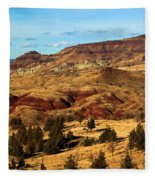 John Day Blue Basin Fleece Blanket