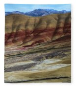 John Day Painted Hills Fleece Blanket