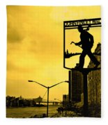 John Finley Walk V1 Fleece Blanket