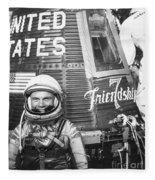 John Glenn, 1962 Fleece Blanket