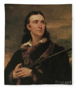 John James Audubon, French-american Fleece Blanket