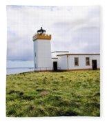 John O Groats Lighthouse Fleece Blanket