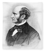 John Stuart Mill Fleece Blanket