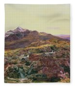 John William Inchbold Fleece Blanket