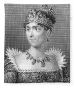 Josephine De Beauharnais Fleece Blanket