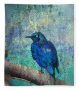 Josh's Blue Bird Fleece Blanket
