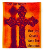 Joy Comes Fleece Blanket