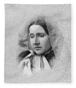 Julia Ward Howe (1819-1910) Fleece Blanket