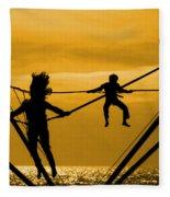 Jump For Joy Fleece Blanket