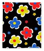 Junior Florals Fleece Blanket