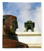 Junipero Serra Fleece Blanket