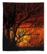 Just A Pretty Sunrise Fleece Blanket
