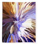 Just Abstract Iv Fleece Blanket