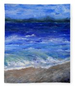 Just Beachy Redo Fleece Blanket