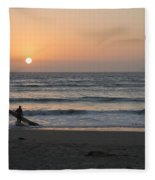 Just One More Wave Fleece Blanket