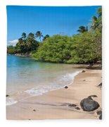 Kahana Beach Fleece Blanket