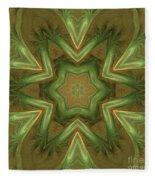 Kaleid Flower Fleece Blanket