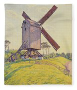 Kalf Mill Fleece Blanket