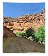 Kane Creek Road Fleece Blanket