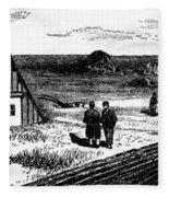 Kansas, Mennonites, C1874 Fleece Blanket