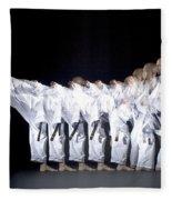 Karate Expert Fleece Blanket