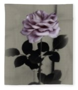 Kathleen's Garden Rose Fleece Blanket