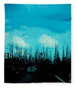 Katrina Trees Fleece Blanket