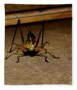 Katydid  Fleece Blanket