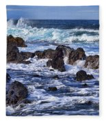 Kauai Beach 3 Fleece Blanket