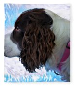 Kaya Paint Filter Fleece Blanket