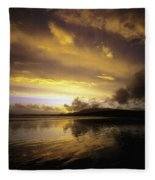 Keel, Achill Island, Co Mayo, Ireland Fleece Blanket